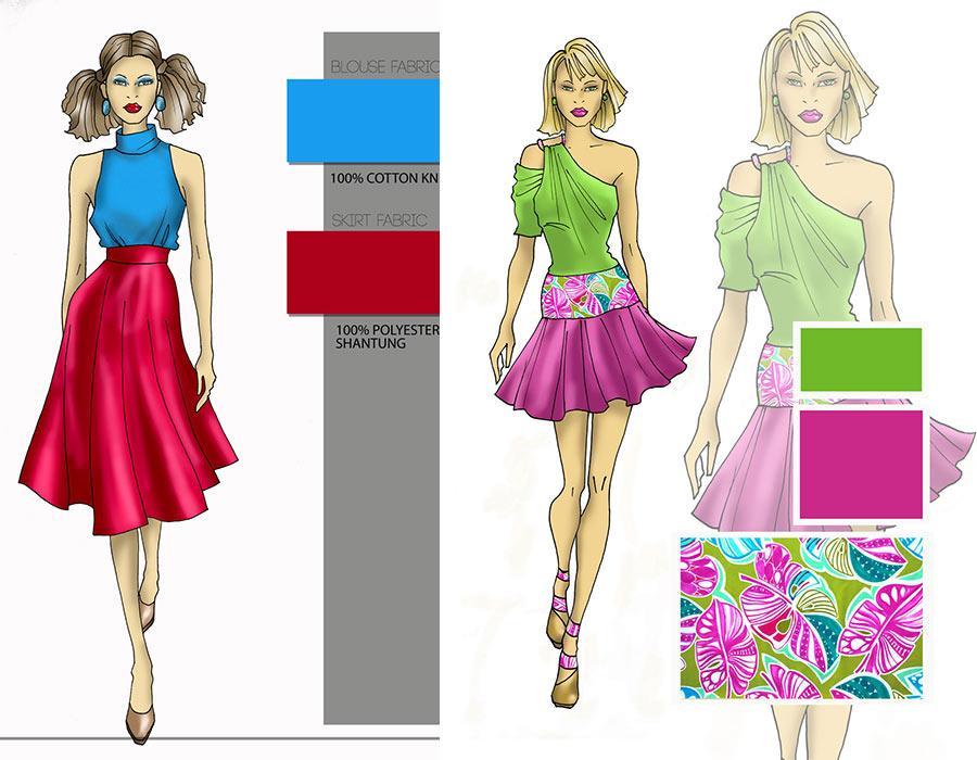 Creating Amazing Fashion Illustratration With Photoshop